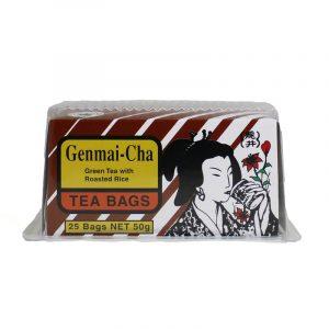 RYUI JAPANESE STYLE GREEN TEA WITH ROASTED RICE GENMAI CHA 50G