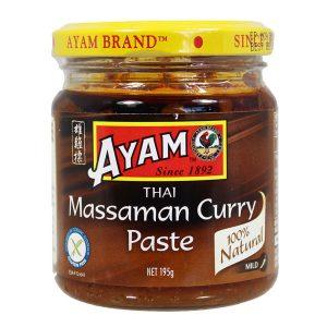AYAM THAI MASSAMAN CURRY PASTE 195G