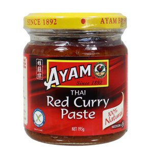 AYAM THAI RED CURRY PASTE 195G